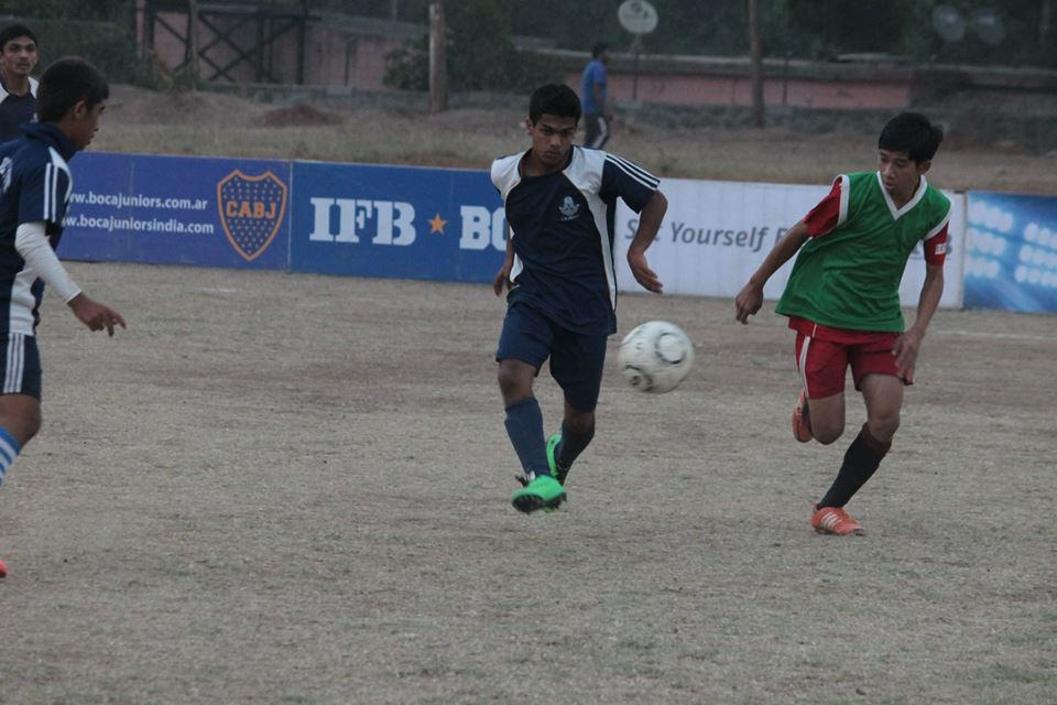 IFB BOCA JUNIORS FOOTBALL CHAMPS - Pune Leg, Agashe College, Pune