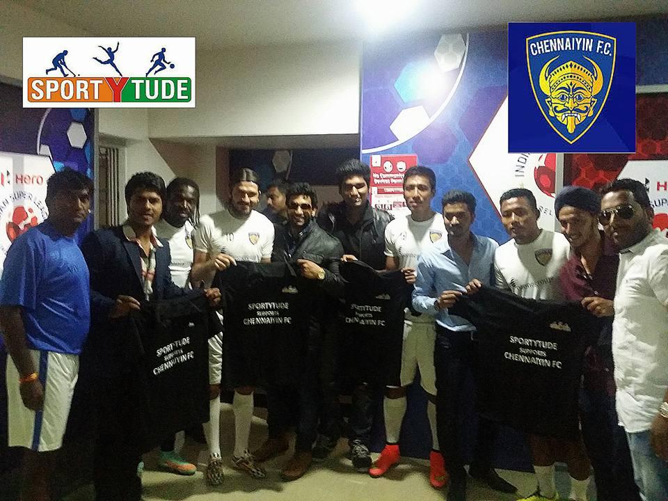 Sportytude Meets Chennaiyin FC