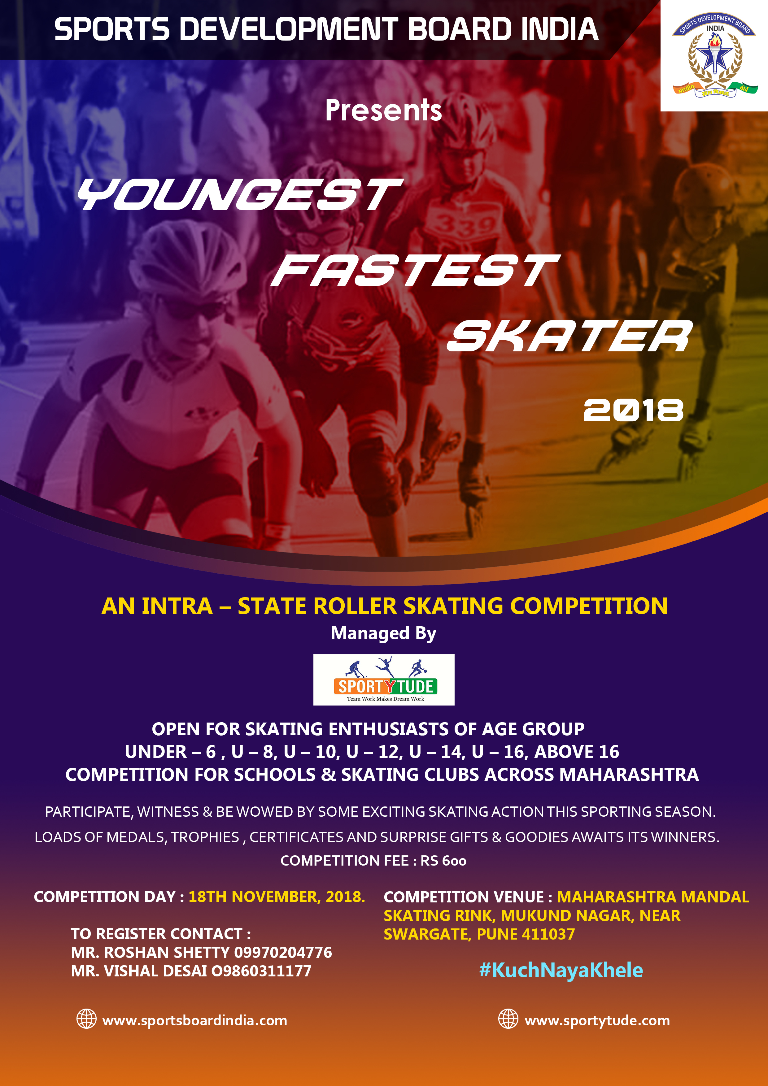 Youngest Fastest Skater 2018