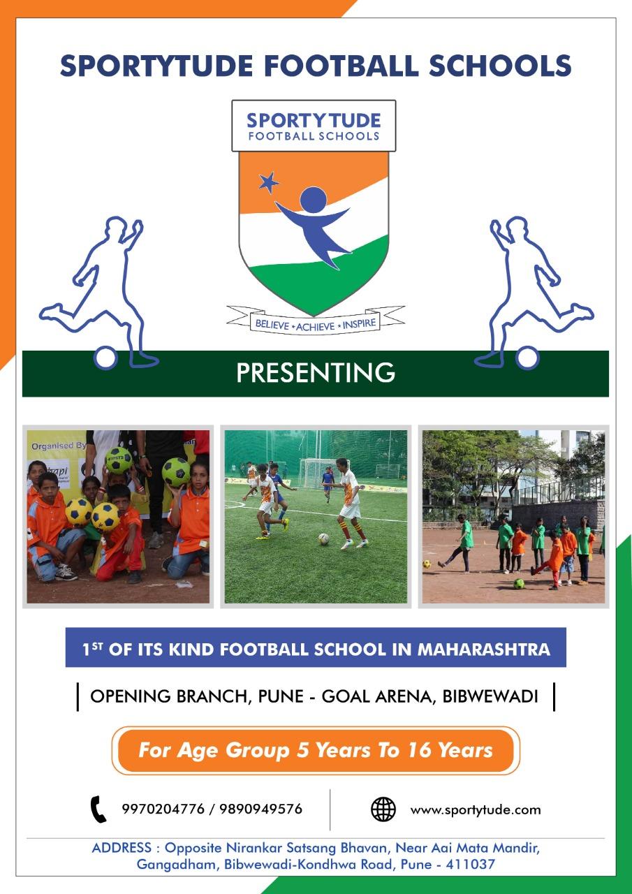 THE SPORTYTUDE FOOTBALL SCHOOL 2